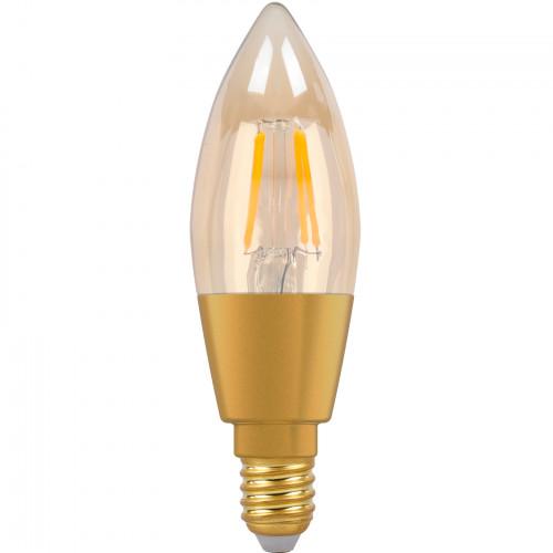 SMARTLINE Filament LED-lampa E14 Kronlju