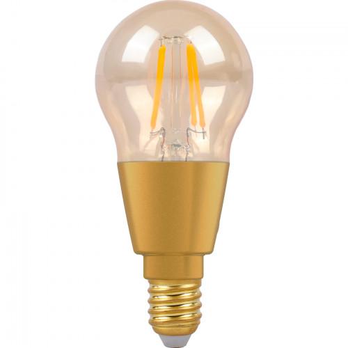 SMARTLINE Filament LED-lampa E14 Klot Bl