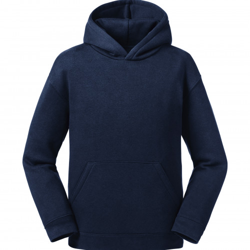 Russell Kids Authentic Hooded Sweat French Navy