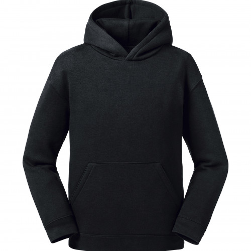 Russell Kids Authentic Hooded Sweat Black