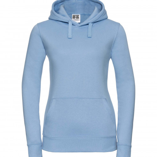Russell Ladies Authentic Hooded Sweat Sky