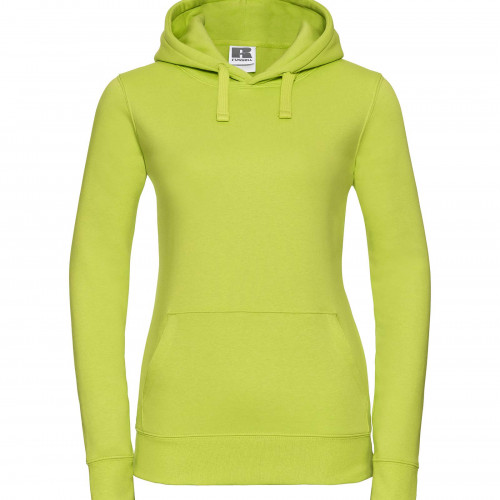 Russell Ladies Authentic Hooded Sweat Lime
