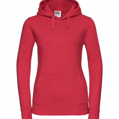 Russell Ladies Authentic Hooded Sweat Classic Red