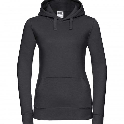 Russell Ladies Authentic Hooded Sweat Black