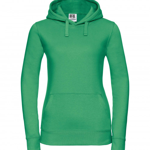 Russell Ladies Authentic Hooded Sweat Apple