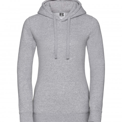 Russell Ladies Authentic Hooded Sweat Light Oxford