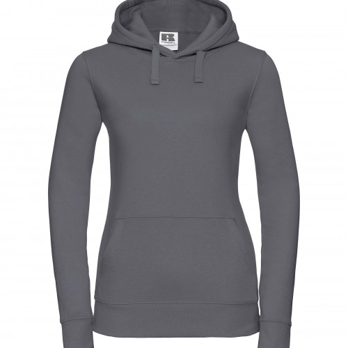 Russell Ladies Authentic Hooded Sweat Convoy Grey