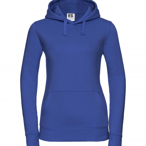 Russell Ladies Authentic Hooded Sweat Bright Royal