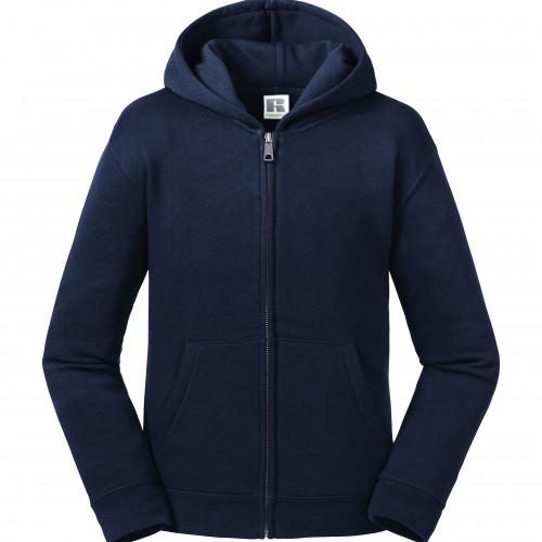 Russell Kids Authentic Zipped Hood Sweat French Navy