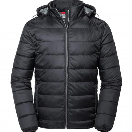 Russell Men's Hooded Nano Jacket Black