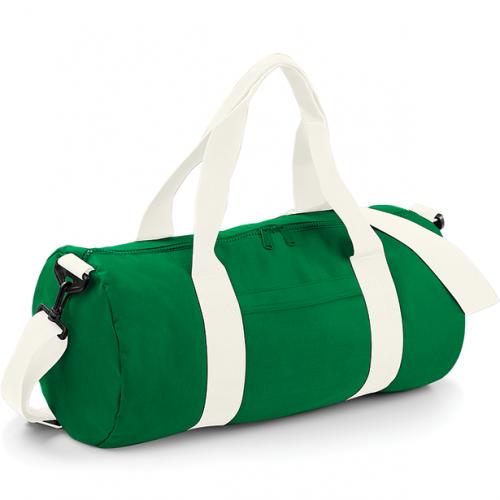 Bag base Original Barrel Bag KellyGreen/OffWhite