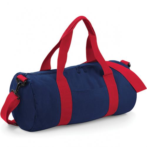 Bag base Original Barrel Bag FrenchNavy/ClassicRed