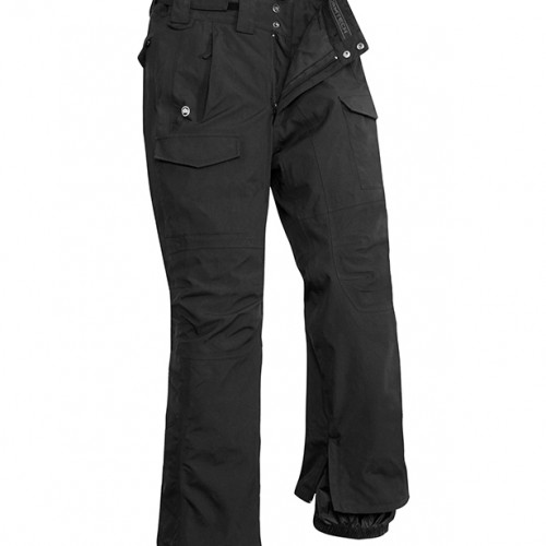 Stormtech W's Ascent Hard Shell Pant Black/Granite