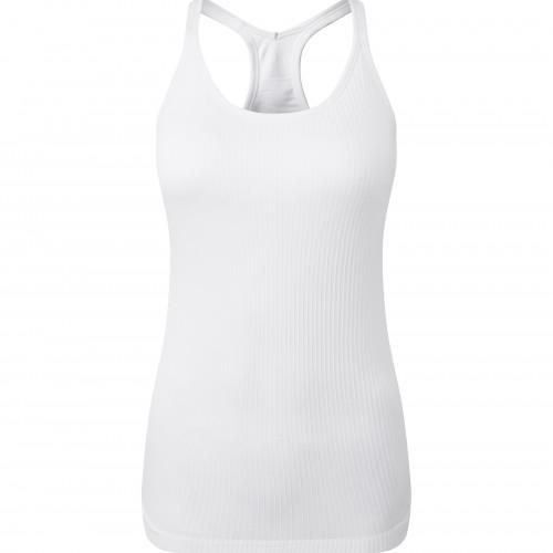 Tri Dri Womens TriDri® Seamless 3D Fit Multi-sport Sculp White