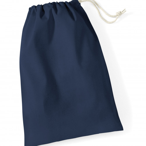 Westford Mill Cotton Stuff Bag Navy