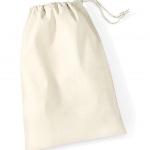 Westford Mill Cotton Stuff Bag Natural