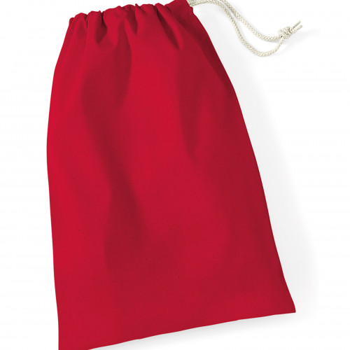 Westford Mill Cotton Stuff Bag ClassicRed