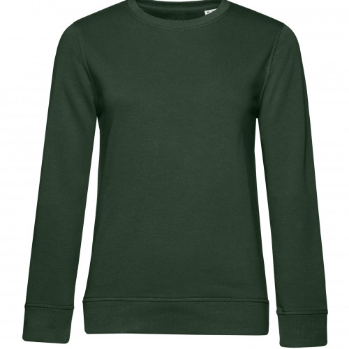 B and C Collection B&C Organic Crew Neck /women Forest Green