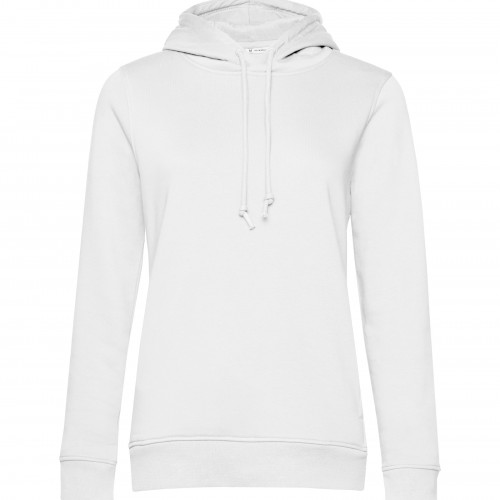 B and C Collection B&C Organic Hooded /women White