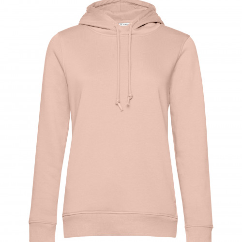 B and C Collection B&C Organic Hooded /women SoftRose