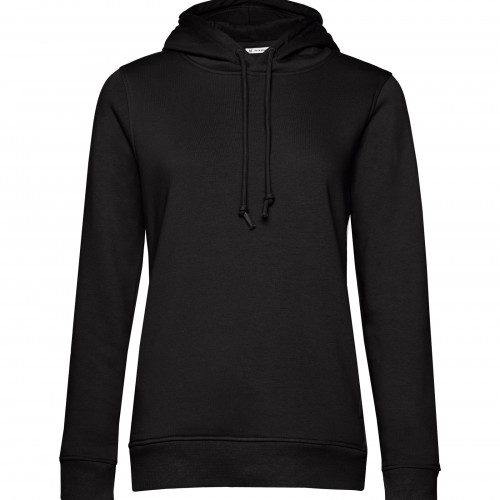 B and C Collection B&C Organic Hooded /women BlackPure