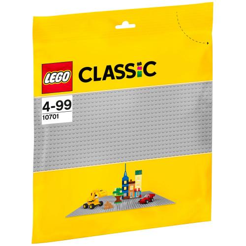 LEGO Classic - Grå basplatta