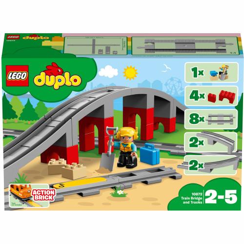 LEGO DUPLO Town - Tågbro och spår