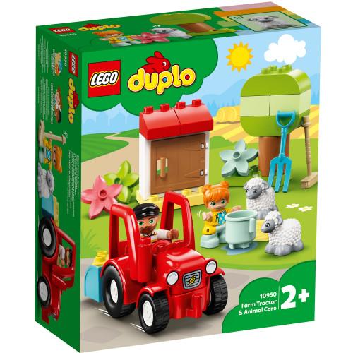 LEGO DUPLO Town - Traktor och djurs