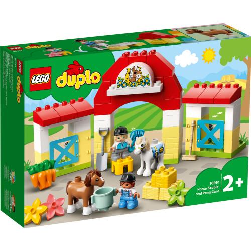 LEGO DUPLO Town - Häststall och pon