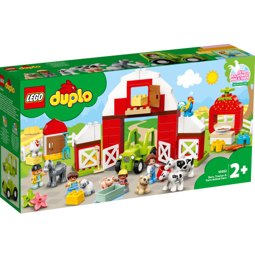 LEGO DUPLO Town - Lada traktor och