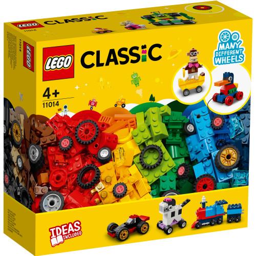 LEGO Classic - Klossar och hjul