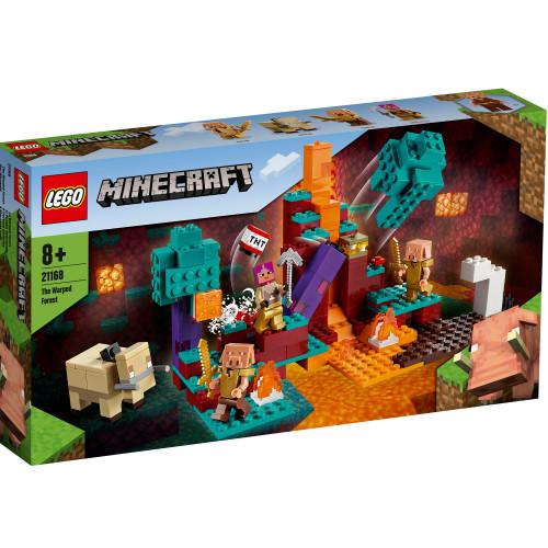 LEGO Minecraft - Den skeva skogen
