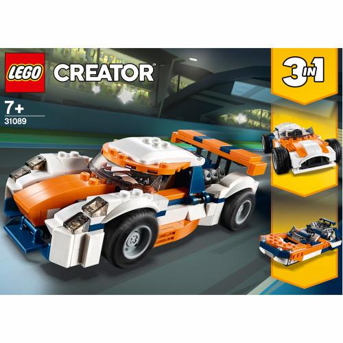 LEGO Creator - Orange racerbil