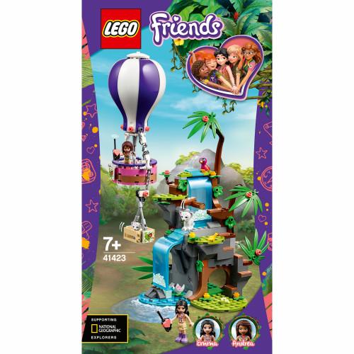 LEGO Friends - Djungelräddning med