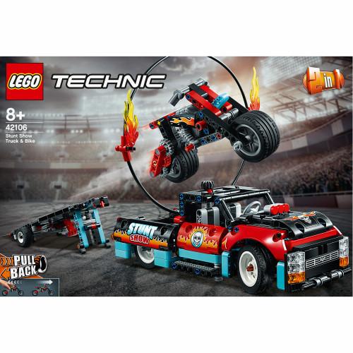 LEGO Technic - Stuntuppvisningsbil