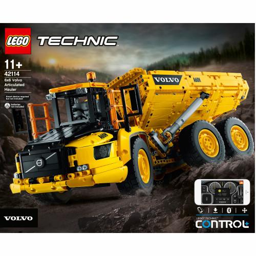 LEGO Technic - Volvo 6x6 ledad last