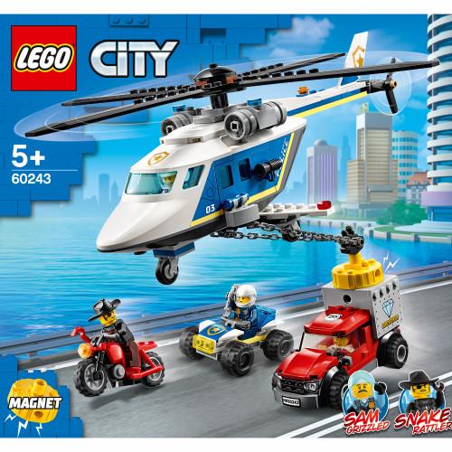 LEGO City Police - Polishelikopterj