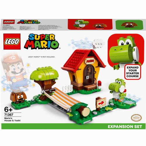 LEGO Super Mario - Marios hus & Yos