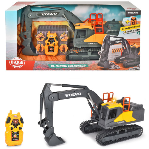Dickie Volvo Mining Excavator