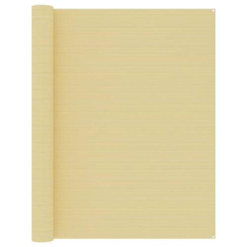 vidaXL Tältmatta 250x550 cm beige