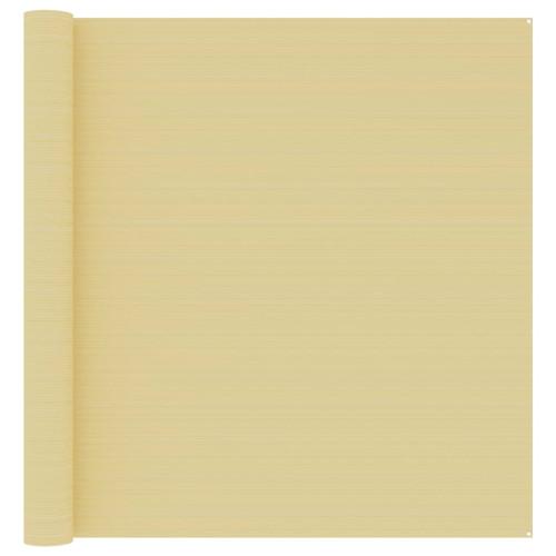 vidaXL Tältmatta 400x600 cm beige
