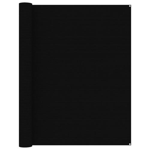 vidaXL Tältmatta 250x500 cm svart