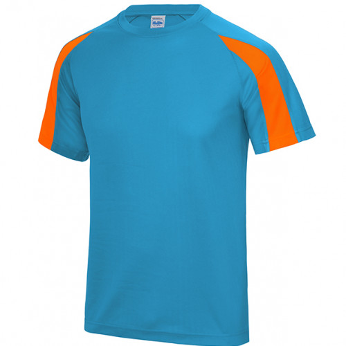 Just Cool Contrast Cool T Sapphire Blue/Electric Orange