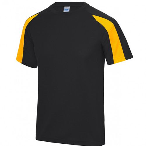 Just Cool Contrast Cool T Jet Black/Gold