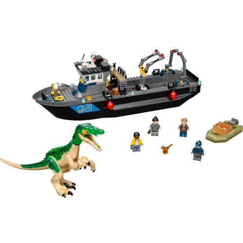 LEGO Jurassic World - Båtflykt med