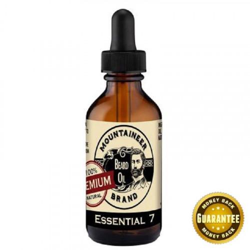 Mountaineer Brand Premium Essential 7 Beard Oil 60ml