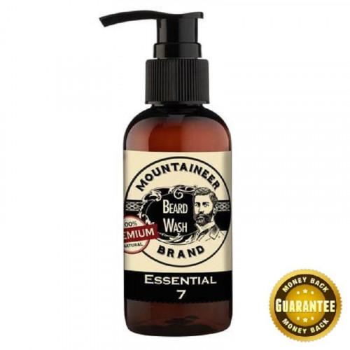 Mountaineer Brand Premium Essential 7 Beard Wash 120ml
