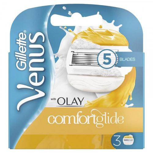 Gillette Venus Olay Comfort Glide Blades 3-pack