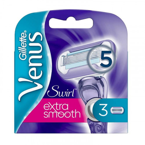 Gillette Venus Swirl Extra Smooth Blades 3-pack