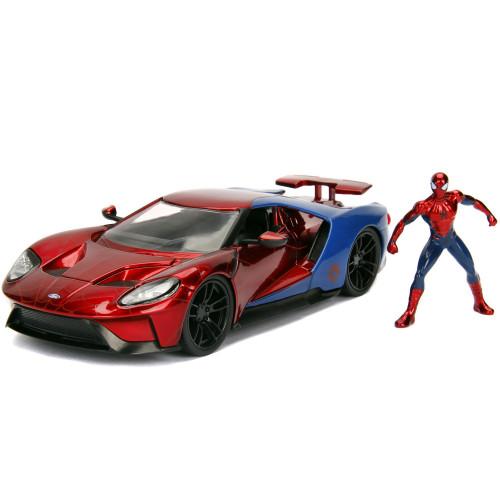 Jada Toys Marvel Spiderman 2017 Ford GT